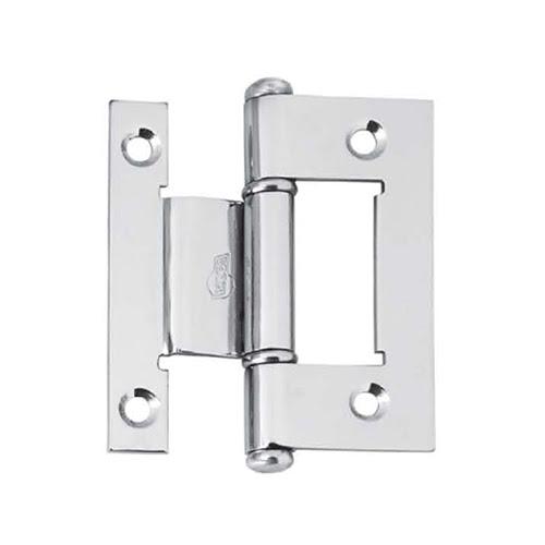 Dobradiça para perfil de alumínio